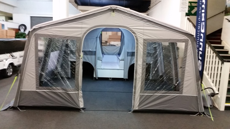 Sunnc& Holiday Air 300 Inflatable Trailer Tent & Sunncamp Holiday Air 300 Inflatable Trailer Tent - Camping ...