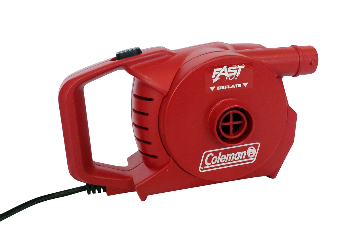 Coleman 230v QuickPump - Red