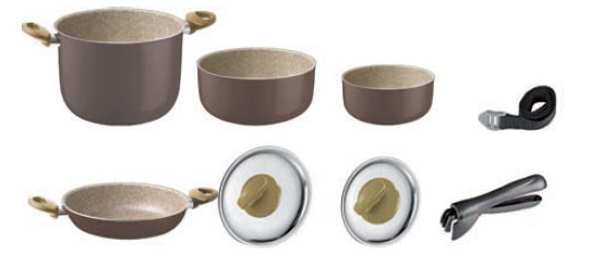 Cocolate sauce pan set