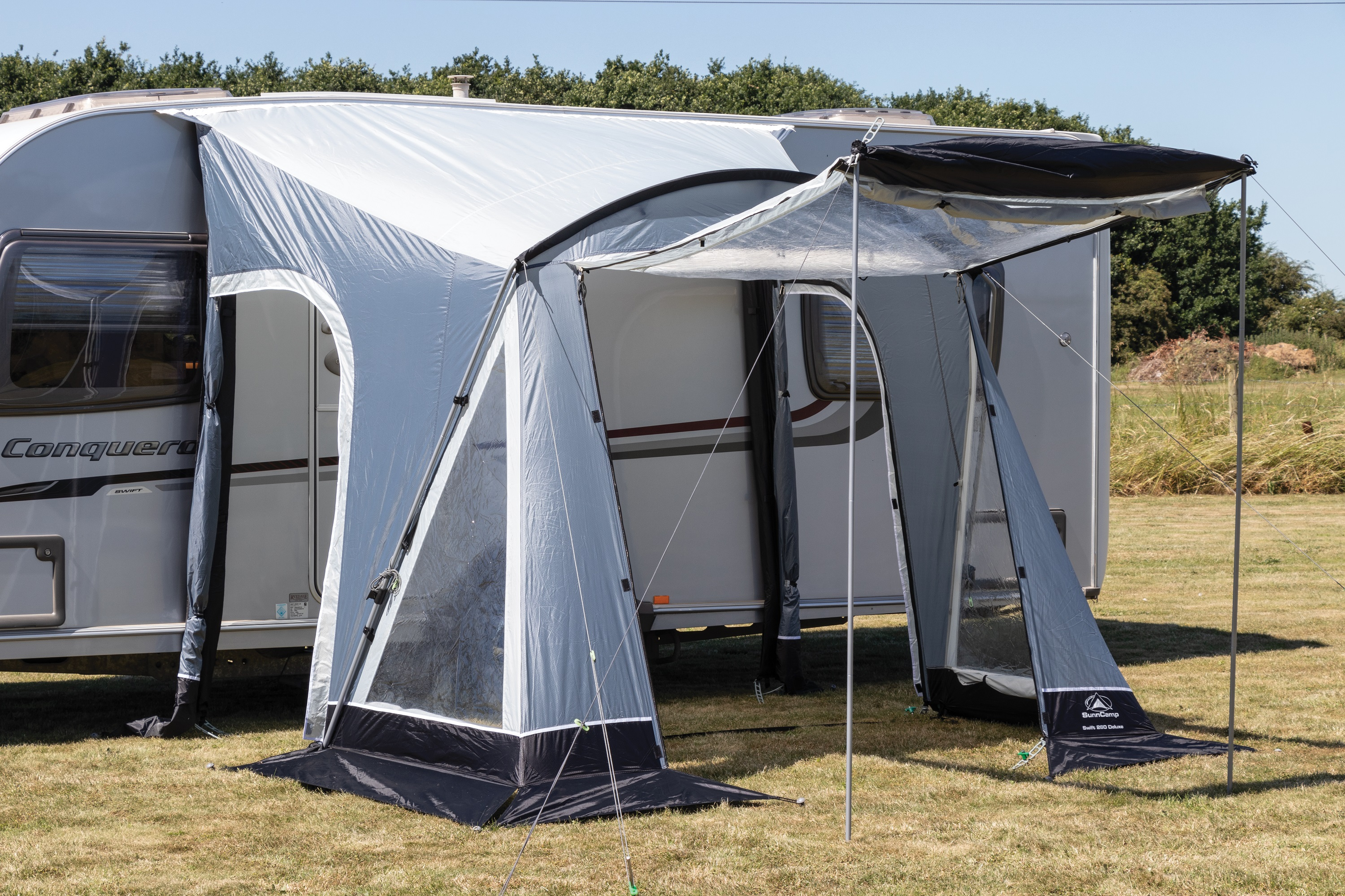 Sunncamp Swift 260 Deluxe Awning 2019 Camping International