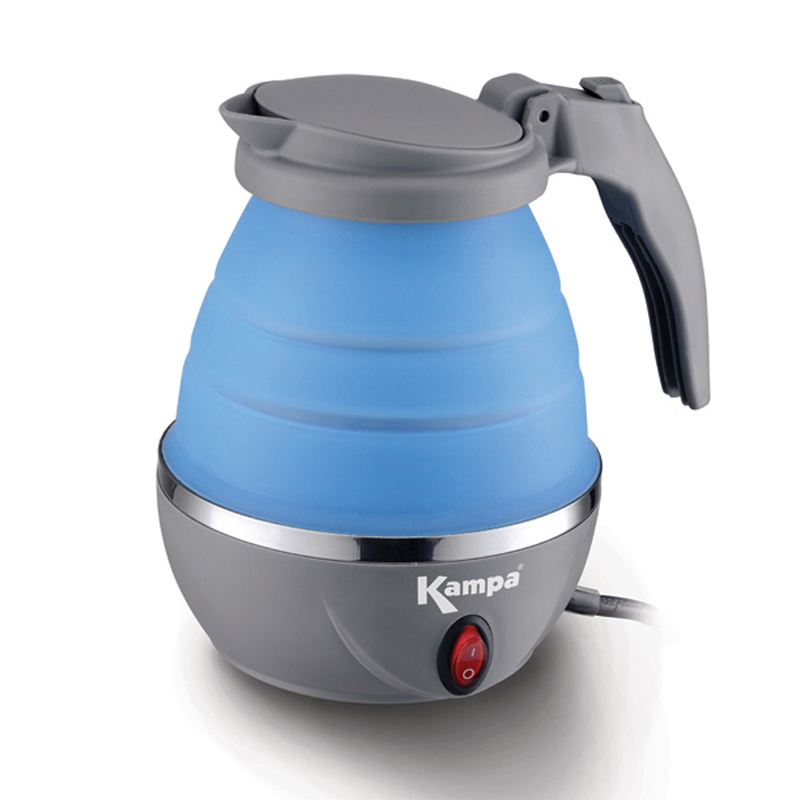 Kampa Squash Collapsible Electric Kettle Camping
