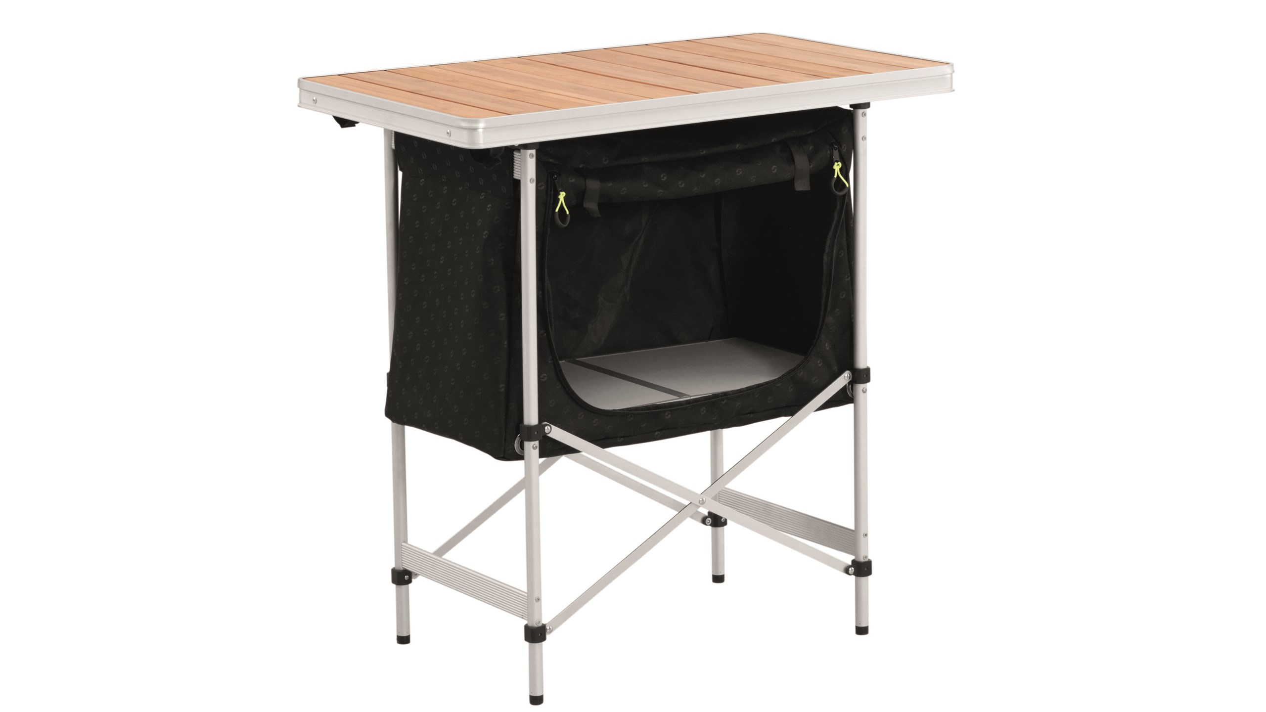 Outwell Regina Kitchen Table with Bamboo Top - Camping International