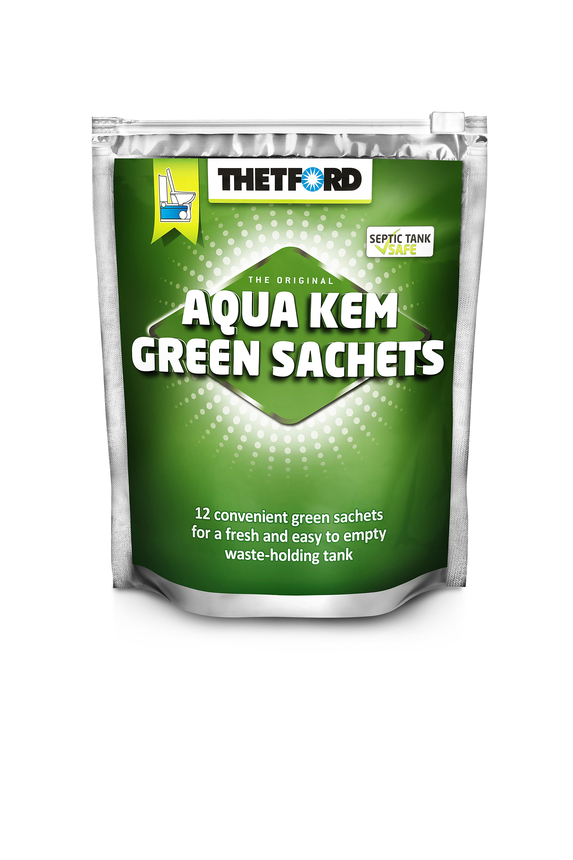 thetford aqua kem sachets green camping international. Black Bedroom Furniture Sets. Home Design Ideas