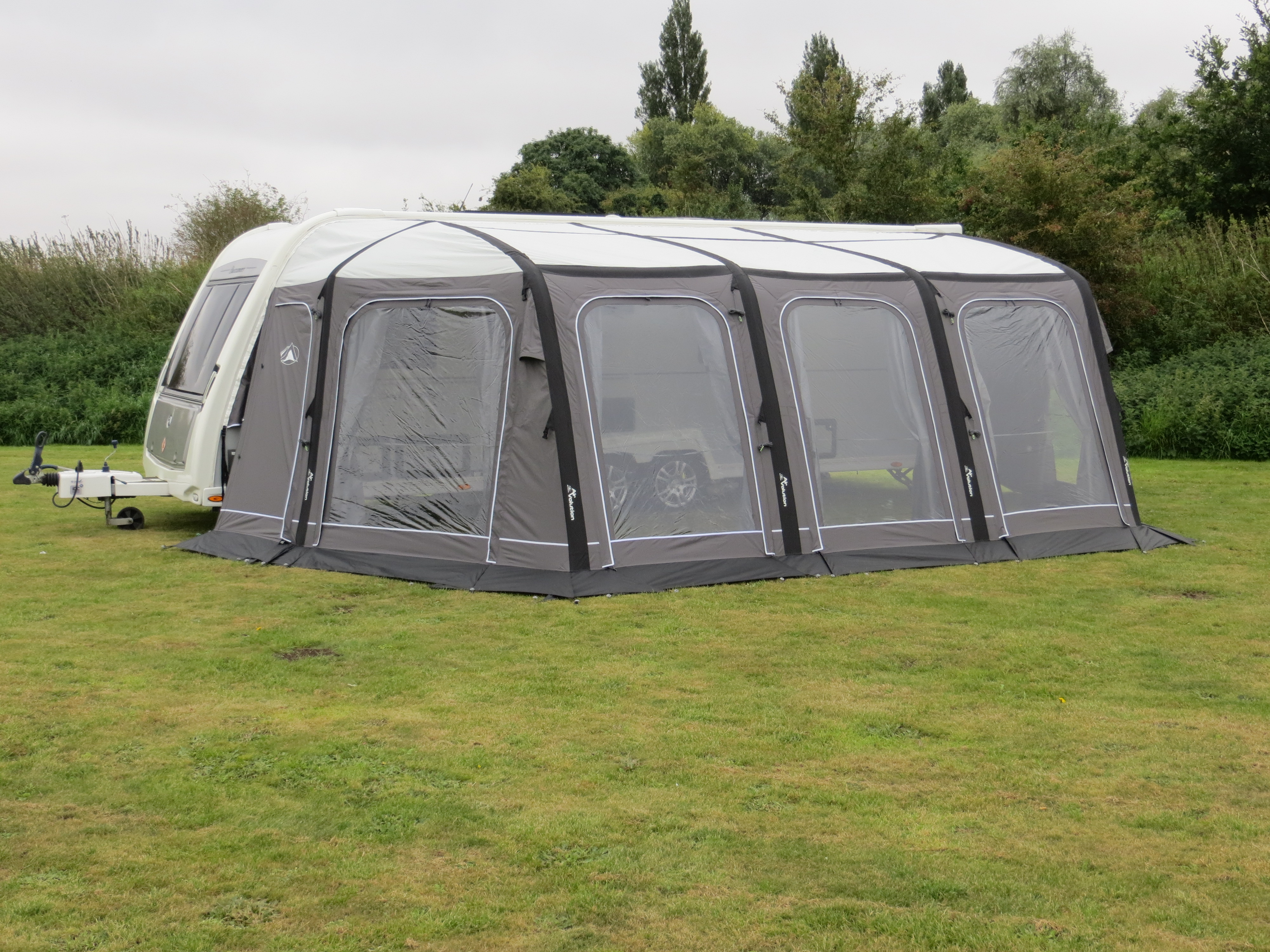 SunnCamp Icon AIR Inflatable Full Awning - 2018 - Camping International