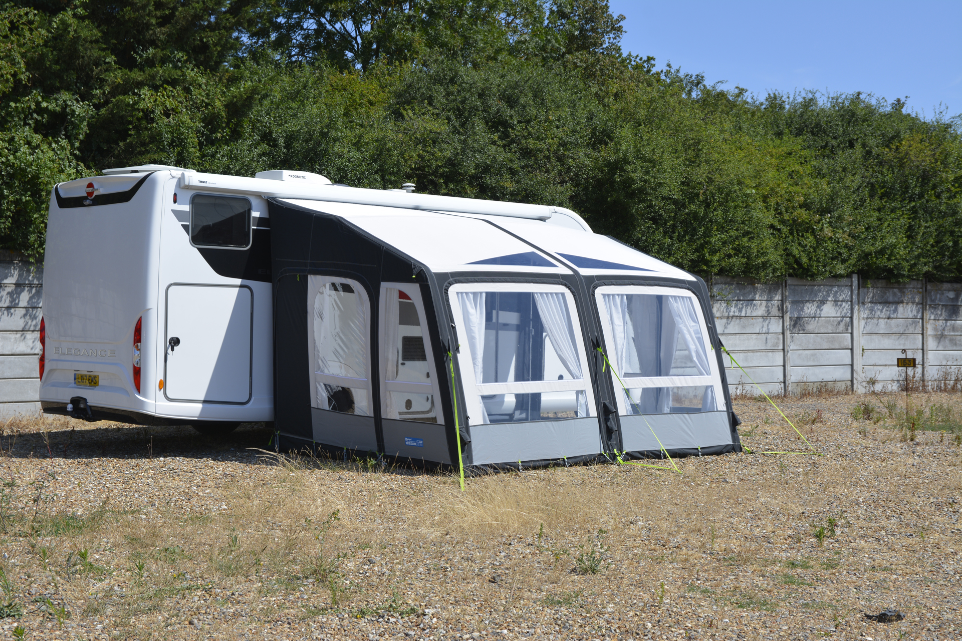 Kampa Motor Grande AIR PRO 390 L Motorhome Awning - 2019 - Camping  International