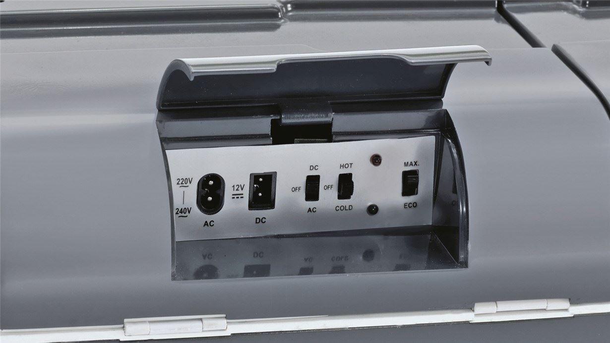 Outwell ECOcool 24L Coolbox 12v//230v Slate Grey
