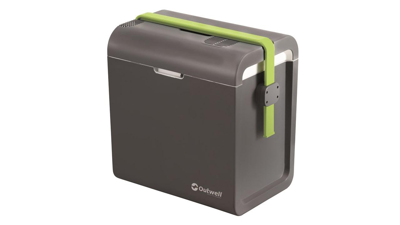 outwell ecocool 24l coolbox 12v 230v slate grey. Black Bedroom Furniture Sets. Home Design Ideas