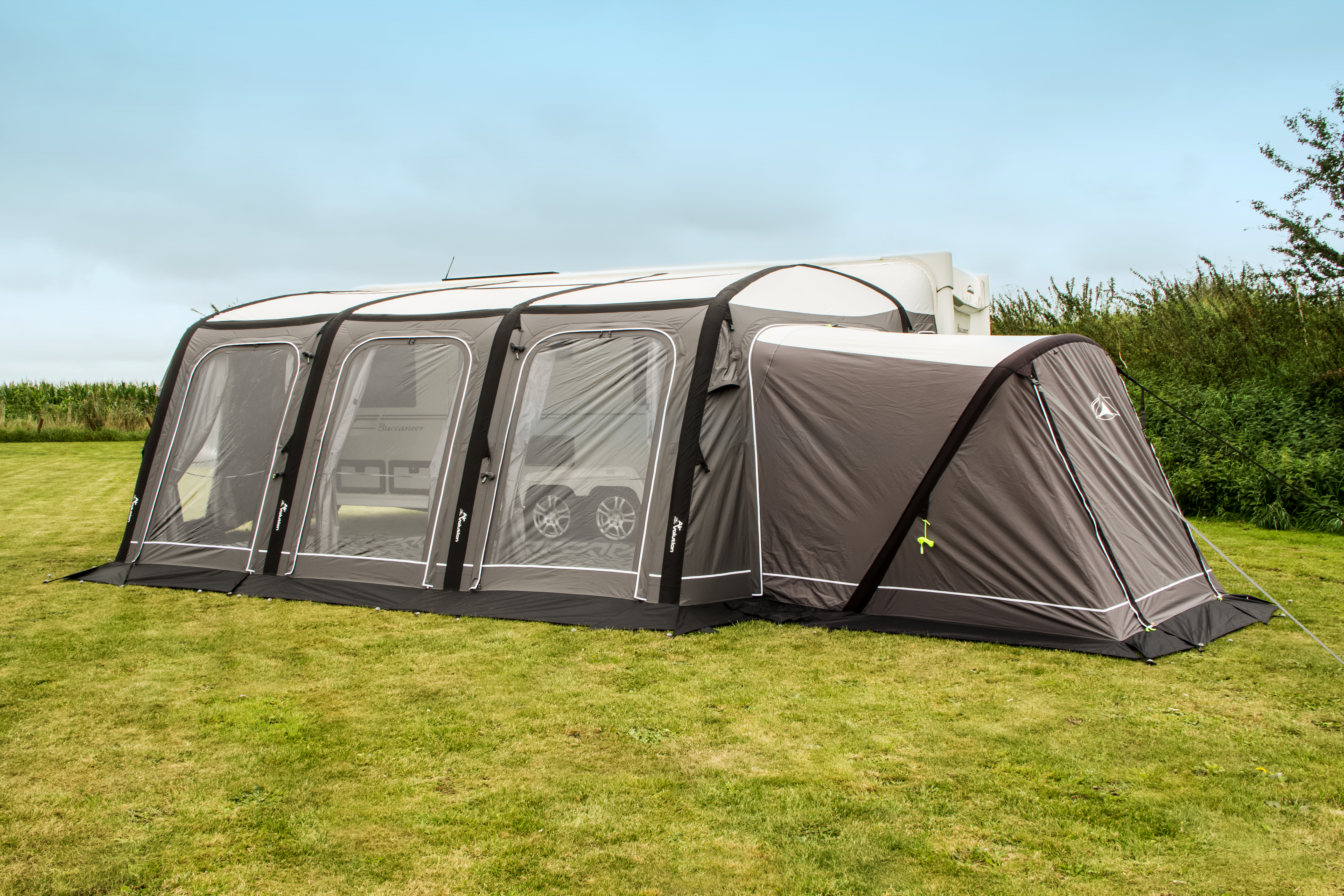 SunnCamp Icon Air Annex - 2018 - Camping International